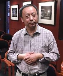 Xiao Shu at George Washington University in April, 2014.