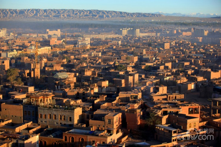 伊力哈木_喀什老城