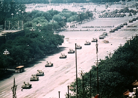 Tank man long shot