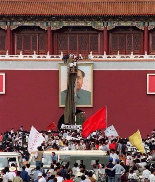 Interview With Yu Zhijian, One of the 'Three Hunan Hooligans' Who Defaced the Portrait of Mao Zedong Over Tiananmen Square in 1989
