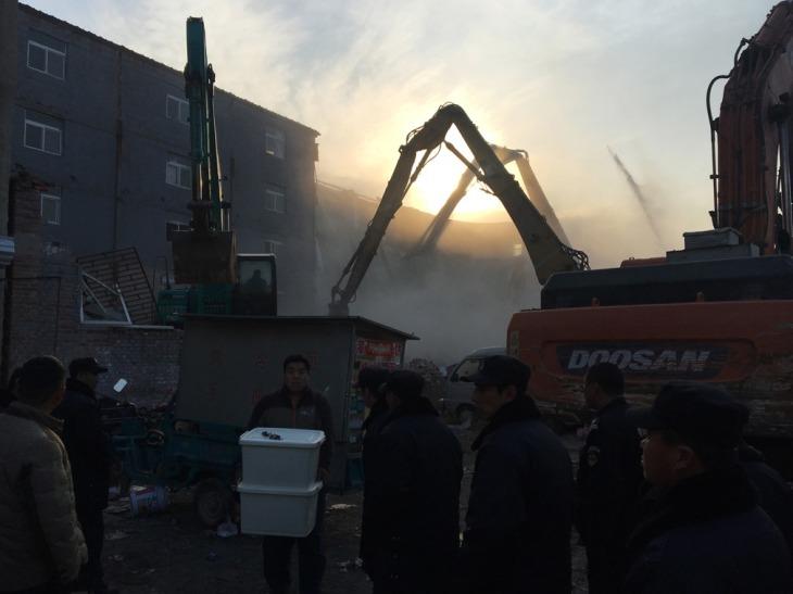 Beijing expulsion, diggers