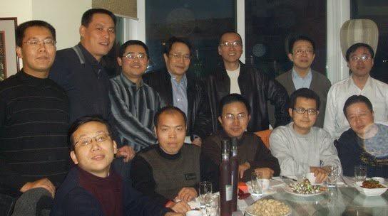 Li Baiguang 2005, 与刘晓波等自由知识分子、维权律师一起