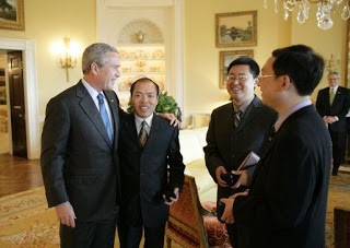 Li Baiguang, Bush meeting