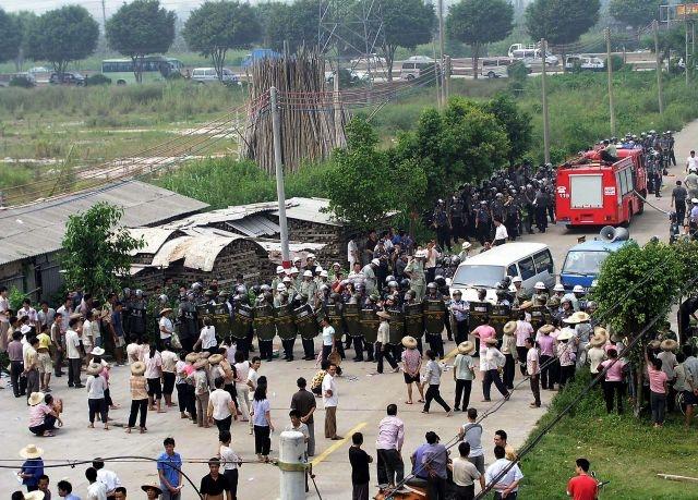 Li Baiguang, Taishi village